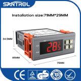 Controlador de temperatura refrigerando e de aquecimento do refrigerador de água