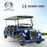 6 Sitzneue Entwurfs-elektrisches Auto-längere Lebensdauer-besichtigenkarren-Qualitäts-Fahrzeug-Golf-Karre