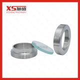 Het sanitaire Tubulaire Glas van het Gezicht van het Roestvrij staal SS304 SS316L