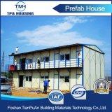 Tipo económico casa prefabricada de dos niveles K para el uso de la fábrica