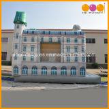 Neuer Entwurfs-springendes Prahler-aufblasbares Gebäude kombiniert für Kinder (AQ701)