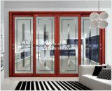 De Schuifdeur van het aluminium, de Deur van het Glas van het Aluminium, BuitenDeur