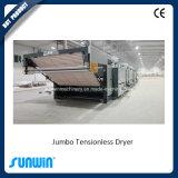 Secador Tensionless de la materia textil grande de la capacidad de producción para el paño grueso y suave