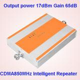 repetidor CDMA850MHz de Amplifer G/M 850 de la señal del teléfono celular del repetidor/de 3G G/M