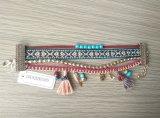 Böhmen-multi farbige Raupen und Gewebe-Armband