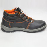 안전 Shoes (PU leahter+PU 두 배 색깔 발바닥). 일 단화
