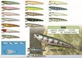 Pêcheurs de bonne qualité sautant le premier attrait de flottement de pêche de Popper 88mm de l'eau d'amorce