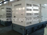 Super silenciado 50Hz com sistema de gerador a diesel Cummins refrigerado 500kw / 625kVA