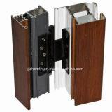 Puertas de aluminio con bisagras verticales del boutique (HM-813)