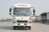 중국 상표에 의하여 냉장되는 냉각 Truck/Refrigerator 밴 Body Truck