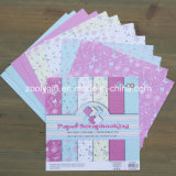 "DIY Scrapbooking 6X6 "" modelou o papel Handmade do Scrapbook do bloco de papel"