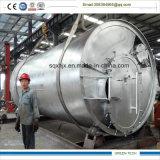 Máquina de um Pyrolisis de 10 toneladas que recicl o pneu Waste para olear a energia