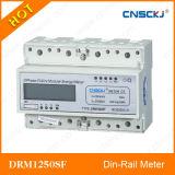 삼상 다기능 DIN 가로장 전기 미터