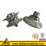 Vacuum Brazed Diamond Router Bits for Grinding Edge