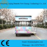 Camion de transport mobile personnalisé Street Vending avec Ce