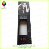 Papier promotionnel empaquetant la boîte de cheveux noirs