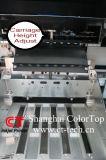 Impresora solvente con Konica 1024 cabezas 14pl
