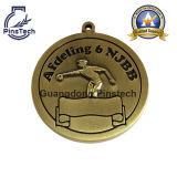 La médaille de club de natation, coutume folâtre la médaille promotionnelle