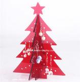 명확한 아크릴 크리스마스 나무