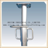 塗られた足場支柱はまたは調節可能な金属の支柱に電流を通した
