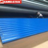 Farbe beschichtete galvanisiert Roofing das Blatt, das nach Nigeria exportiert wurde