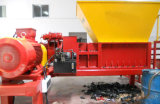 Ligne de rebut constructeur de Recyling de pneu de Shreder