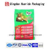 Пластичный мешок еды любимчика мешка собачьей еды плоского дна с застежкой -молнией