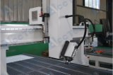 O router o mais novo Akm1325wood do ATC do CNC lasca a madeira de Vacuumfor