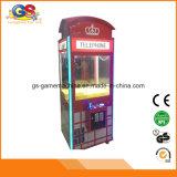 Het Muntstuk van de Jonge geitjes van Singapore stelde de Elektronische Machine van de Klauw van de Arcade van de Kraan van de Leverancier Zeer belangrijke Hoofd voor Goedkope Verkoop in werking