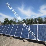 ハイブリッドシステムとして2kw風Turbine+5 PCSの太陽電池パネル