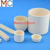 Haute pureté utilisée dans de nombreux champs Alumina Ceramic Crucible