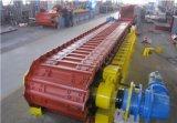 Os alimentadores resistentes do avental da série de Bwz/máquina de alimentação o alimentador de placa Chain de pedra são usados na mineração do metal/construção da engenharia/indústria do cimento/carvão