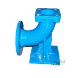Ajustage de précision de pipe Grooved de fer d'adaptateur malléable de bride