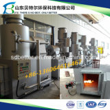 Inceneratore che non dà fumo di cremazione dell'animale domestico, per i cani, gatti, incenerimento dei maiali
