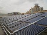 LPC no de presión del tubo de vacío del colector solar Proyecto