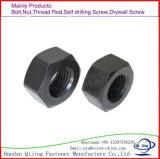 Высокое качество, сталь углерода DIN 934 низкой цены, гайки шестиугольника нержавеющей стали