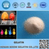 Industrielles Gelatin in Paintball