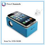 Altavoz sin hilos de la inducción de Smartphone de la caja acústica mágica (STD-M188)
