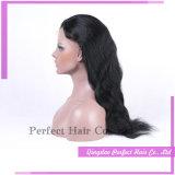 Glueless natürliche HaarstrichMenschenhaar-Spitze-Perücken