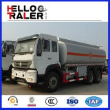 Mão esquerda que conduz do caminhão de petroleiro 6 x 4 do combustível caminhão de petroleiro do petróleo 336HP para a venda