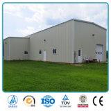 Edificio prefabricado del almacén/de la fábrica del calibrador ligero