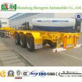 Pesante-dovere 40FT Container Flatbed Truck Trailer della Cina