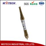Piezas de cobre amarillo de torneado trabajadas a máquina CNC de la precisión para industrial