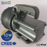 10W antorcha de gran alcance del CREE LED para los granjeros Fishman