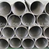 La vendita calda ha galvanizzato i tubi del filtro per pozzi dell'acqua di 177.8mm
