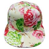 Gorra de béisbol de la manera con la tela floral Sb1591