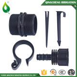 Encaixes de tubulação da compressão do PE do sistema de irrigação do gotejamento
