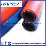 Boyau industriel de soudure jumelle flexible élevée de Presure