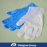 I guanti dell'esame del nitrile con polvere liberano (NGBL-PFM 5.0)