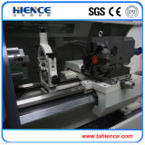 Torno horizontal de venda quente Ck6140A da máquina do CNC mini